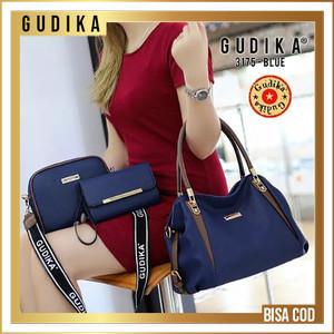 Harga tas original gudika 3175 set 3 in 1 tas import   | HARGALOKA.COM