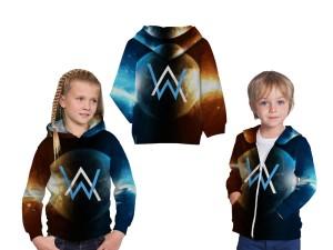 Harga jaket hoodie anak tema alan walker 3d fullprint   art 1 | HARGALOKA.COM