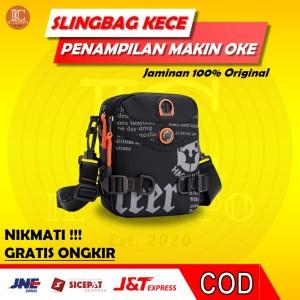 Harga tas selempang pria original sling bag cowok anti air murah haosh 5121   | HARGALOKA.COM