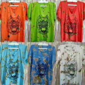 Harga grosir kaos bali dewasa kaos barong bali baju barong bali murah   all size | HARGALOKA.COM