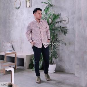 Harga baju batik dobby reguler fit jakarta batikku exclusive   | HARGALOKA.COM