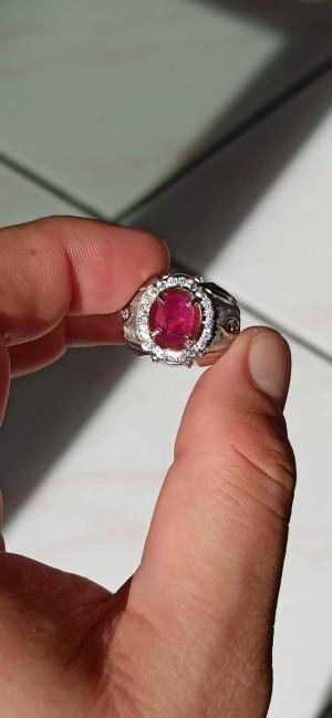 Harga natural ruby tanzania no heat 2 | HARGALOKA.COM