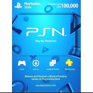 Harga psn card playstation network indonesia wallet idr 100 000 100 000 | HARGALOKA.COM