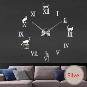 Harga jam dinding unik besar hewan jam dekorasi hiasan dinding minimalis   | HARGALOKA.COM