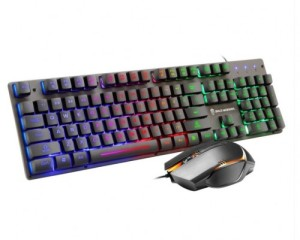 Harga keyboard amp mouse kabel gamer professional for pc laptop gt200 | HARGALOKA.COM