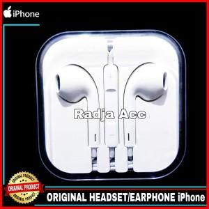 Harga headset earphone iphone 4 4s 4g 3gs apple original 100 | HARGALOKA.COM