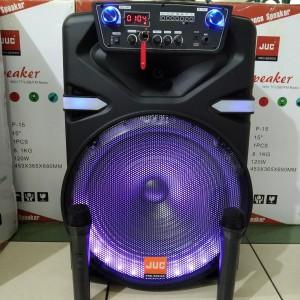 Harga speaker portable meeting juc 15 inch p15 speaker karaoke   HARGALOKA.COM