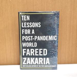 Harga buku import   ten lesson for a post pandemic world fareed zakaria   HARGALOKA.COM