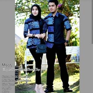 Harga batik couple kantor sarimbit batik kemeja blus batik kombinasi | HARGALOKA.COM