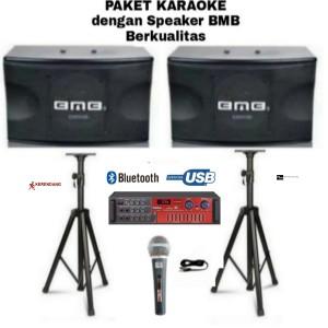 Harga paket karaoke bmb cs 450 v 10 inch amplifer usb bluetooth | HARGALOKA.COM
