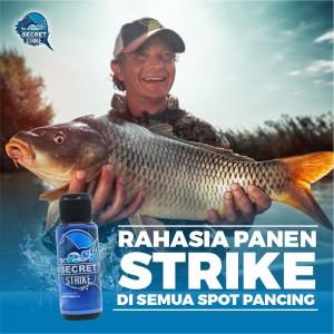 Harga essen umpan pancing secret strike joran mancing ikan mas | HARGALOKA.COM