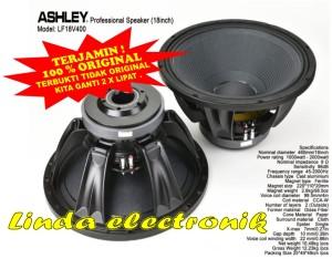 Harga speaker component ashley lf18 v400 woofer 18 inch original | HARGALOKA.COM