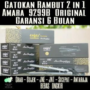 Harga catokan rambut amara 2 in 1   tipe 9299b original catok   HARGALOKA.COM