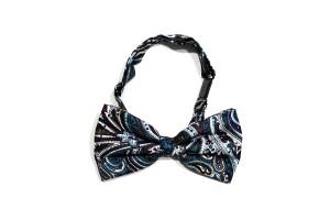 Harga dasi kupu motif biru batik bow tie instant pria wedding | HARGALOKA.COM