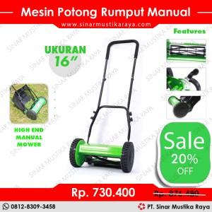 Harga mesin potong rumput manual mower 16 34   mesin pertanian dan | HARGALOKA.COM