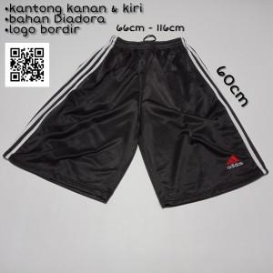 Harga celana pendek 3 4 jumbo premium pria wanita tanah abang ika   HARGALOKA.COM