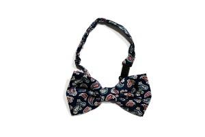 Harga dasi kupu motif batik biru bow tie instant pria wedding | HARGALOKA.COM