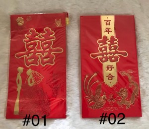 Harga angpao jumbo xl big size shuangxi besar ang pao hongbao wedding nikah   | HARGALOKA.COM