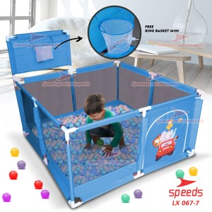 Harga kolam mandi bola keranjang mandi bola mainan tenda anak speeds 067 7   | HARGALOKA.COM