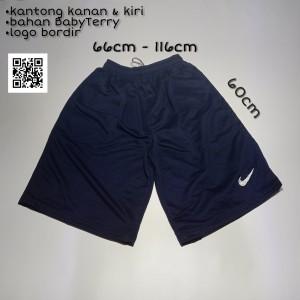 Harga celana pendek 3 4 jumbo premium pria wanita ika fashion tanah   HARGALOKA.COM