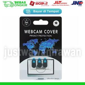 Harga 3 pcs alat penutup kamera laptop hp cover lensa macbook webcam     HARGALOKA.COM