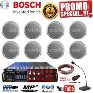 Harga paket sound speaker ceiling bosch mic operator isi 8pcs original | HARGALOKA.COM