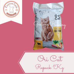 Harga makanan kucing ori cat food premium repack 1 kg   | HARGALOKA.COM