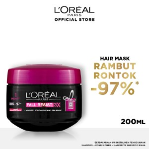 Harga l 39 oreal paris fall resist hair mask   masker | HARGALOKA.COM