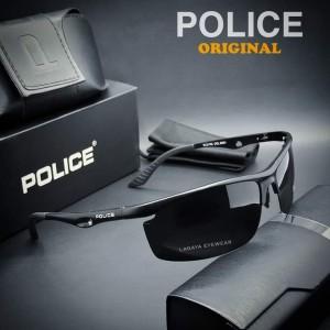 Harga kacamata police 2110 original fashion pria polarized full titanium     HARGALOKA.COM