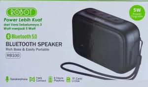 Harga speaker robot bluetooth 5 0 bass gahar stereo tws upgrade power 5 | HARGALOKA.COM