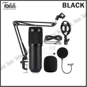 Harga paket lengkap mic condensor premium v8 sound card original usb sound   mic premium | HARGALOKA.COM