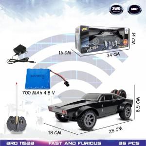 Harga rc sedan dodge charger 500 fast amp furious mobil remote control   radar   tipe | HARGALOKA.COM