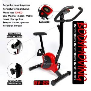 Harga small bike bodymoving   sepeda statis murah   alat olahraga | HARGALOKA.COM