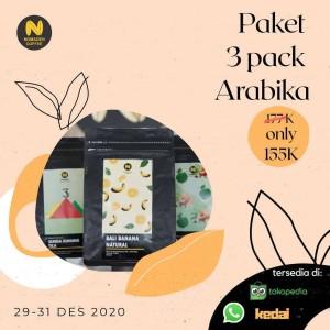 Harga paket 3pack arabika   | HARGALOKA.COM