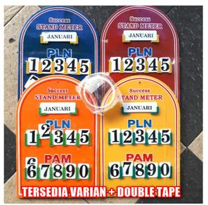 Harga papan plang meter air pam pln listrik rumah komplek kontrakan   papan saja | HARGALOKA.COM