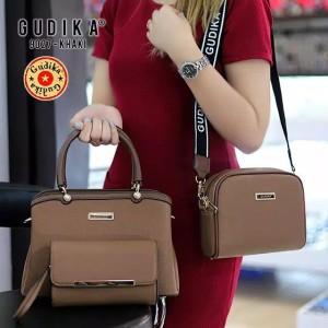 Harga tas original gudika 9027 set 3 in 1 tas import   | HARGALOKA.COM
