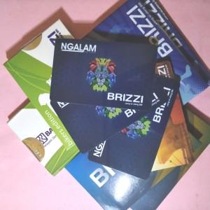 Harga kartu elektronik brizzi e card saldo 0 card   HARGALOKA.COM