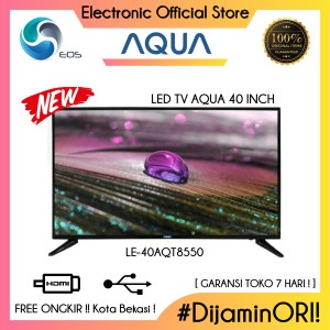 Harga led tv 40 inch aqua le40aqt8550 aqt8550 full hd ready hdmi | HARGALOKA.COM