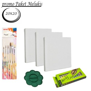Harga paket melukis paket kanvas lukis | HARGALOKA.COM