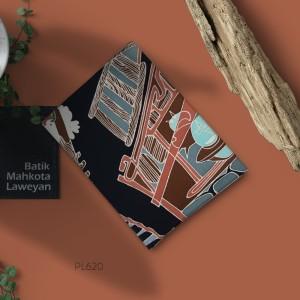 Harga kain batik tulis solo abstrak pola arsitektur kontemporer   HARGALOKA.COM