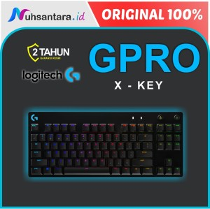 Harga logitech pro x keyboard wireless mechanical gaming original | HARGALOKA.COM