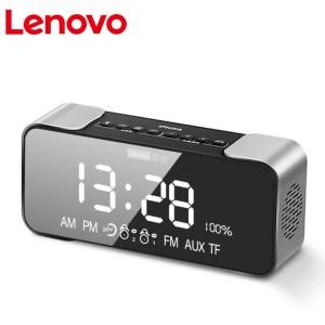 Harga speaker l022 wireless bt 5 0 portable led alarm clock original lenovo   | HARGALOKA.COM