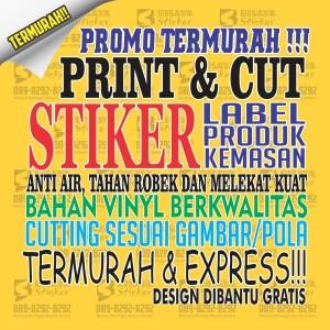 Harga custom stiker label makanan label minuman label produk stiker 01   | HARGALOKA.COM
