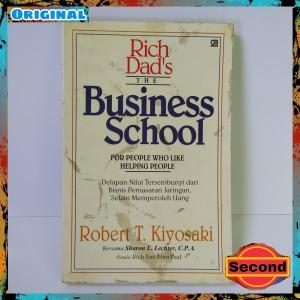 Harga buku bisnis original robert kiyosaki the business school | HARGALOKA.COM