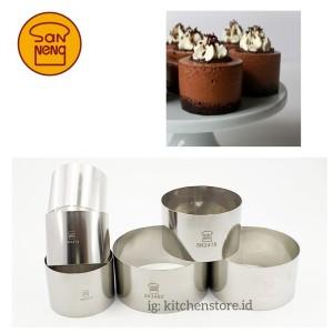 Harga sanneng round ring cetakan ring cake roti mini bulat sanneng   | HARGALOKA.COM