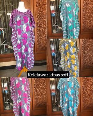 Harga daster batik jumbo adem dipakai tidak luntur soft kipas lowo ld | HARGALOKA.COM