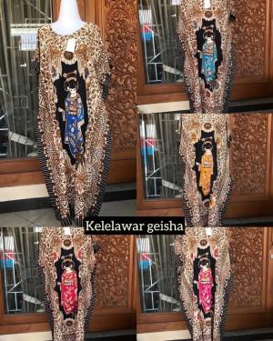 Harga daster batik jumbo adem dipakai tidak luntur ghesa oshin lowo ld | HARGALOKA.COM