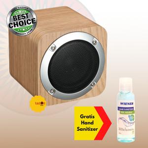 Harga baru recable speaker bluetooth box kayu wooden bluetooth speaker   HARGALOKA.COM
