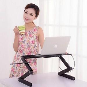 Harga meja daring populer untuk gaya hidup laptop   HARGALOKA.COM