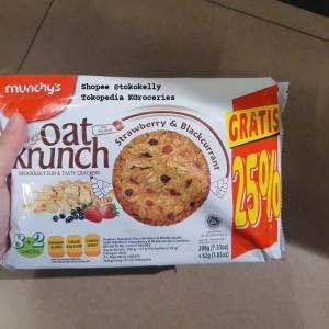 Harga munchys oat krunch strawberry blackcurrant | HARGALOKA.COM